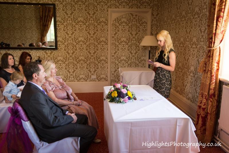 Paxton Room, Tortworth Court Wedding