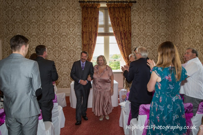 Paxton Room, Tortworth Court Wedding