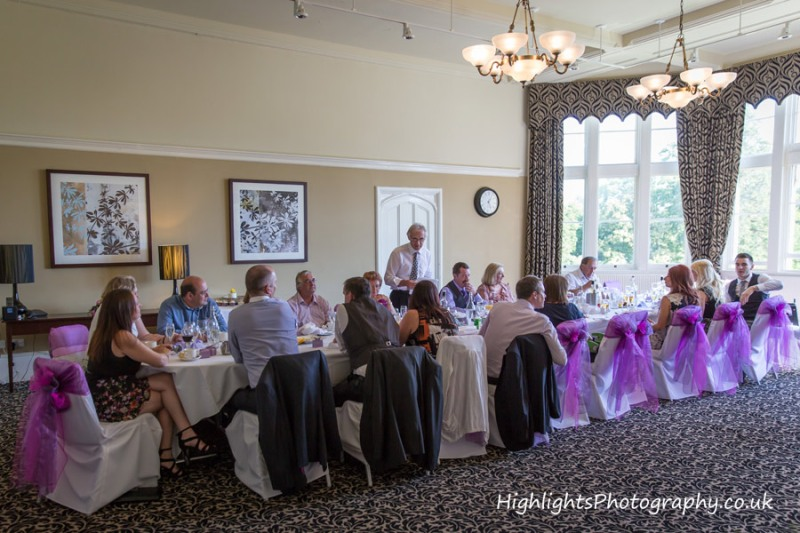 Wedding Kipling Suite, Tortworth Court