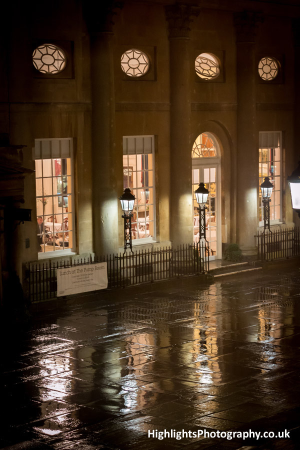 Pump Rooms Bath Wedding