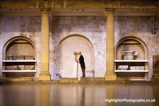 The Roman Baths Wedding