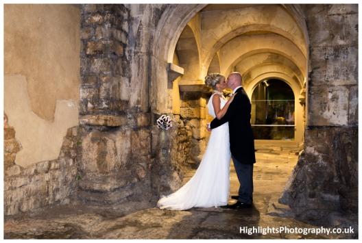 The Roman Baths Wedding