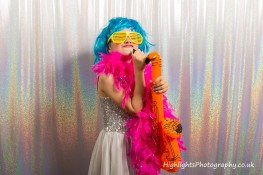 wedding photo booth Somerset with Highlights Photography
