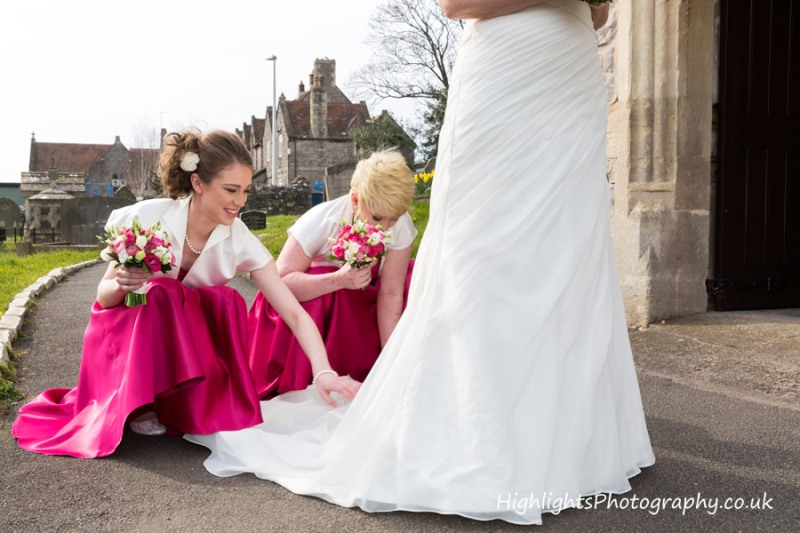 North Somerset Wedding by Highlights Photography