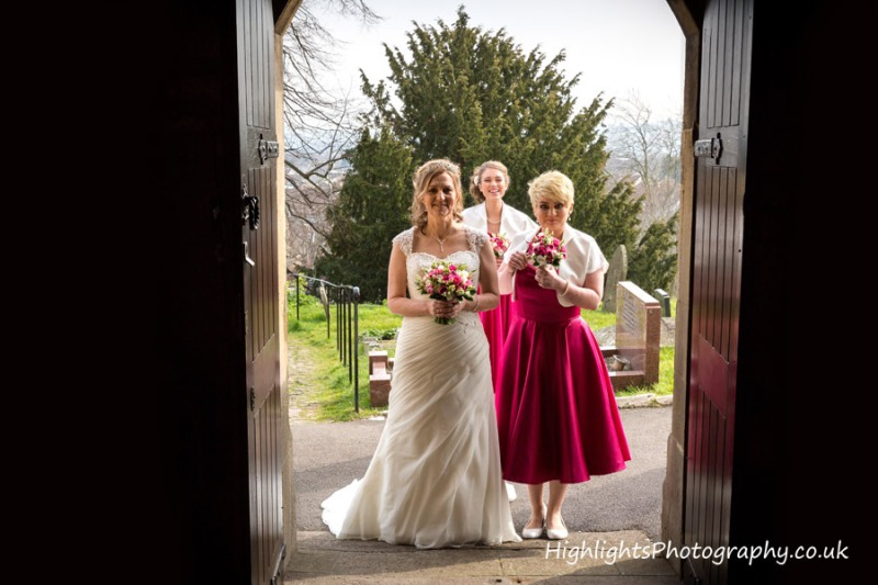 St Martins Church North Somerset Wedding