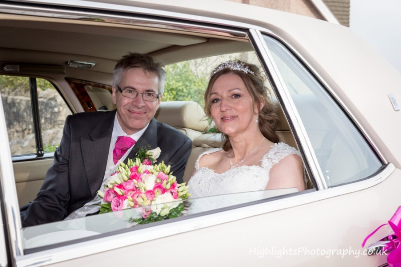 North Somerset Wedding Photographer with bride and groom