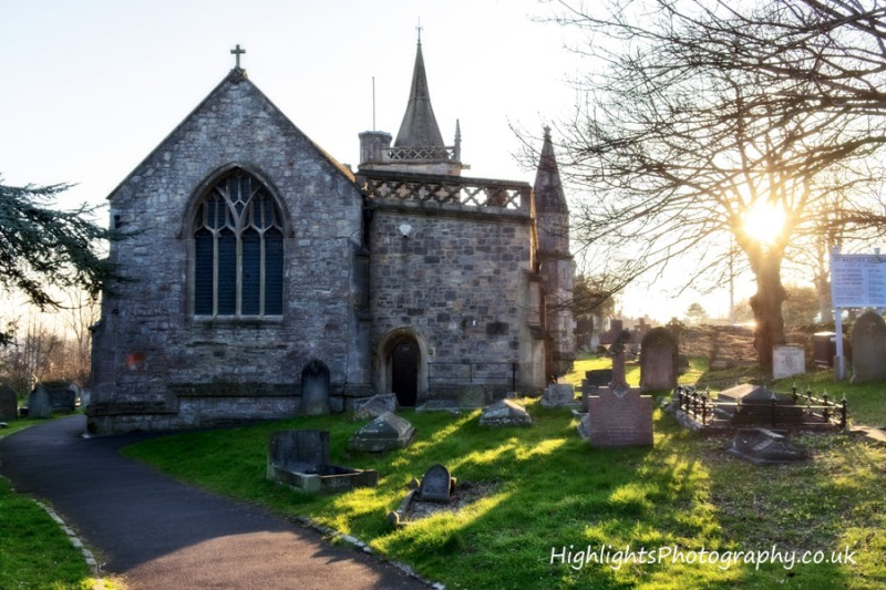North Somerset Wedding St Martins Church by Highlights Photography