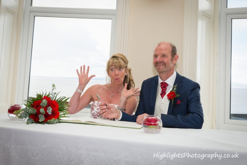 fun at Walton Park Hotel Clevedon Wedding