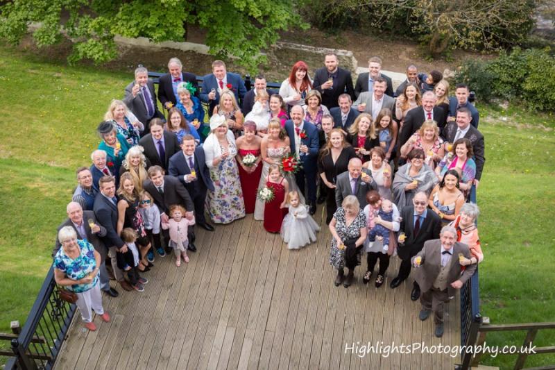group-shot-at-BEST-WESTERN-Walton-Park-Hotel-Clevedon-Wedding