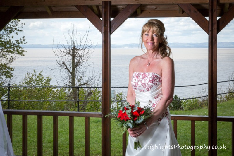 Walton Park Hotel Clevedon Wedding - The Bride