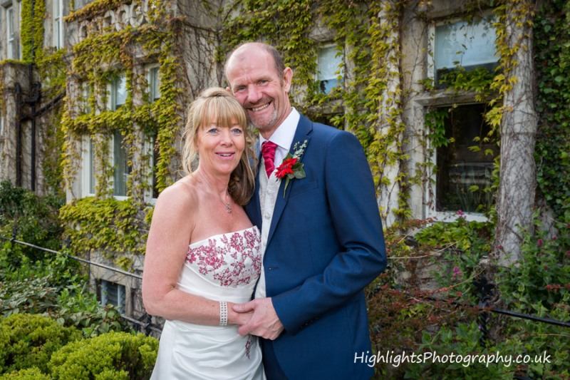Wedding at Walton Park Hotel Clevedon with bride and groom