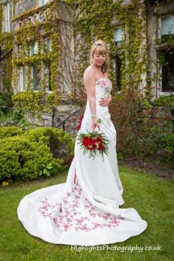 Bride at Walton Park Hotel Clevedon Wedding