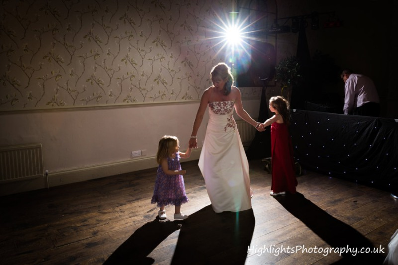 Children having fun Walton Park Hotel Clevedon Wedding