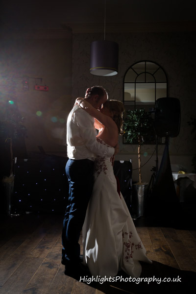 First dance at Walton Park Hotel Clevedon Wedding