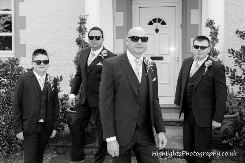 Rookery Manor Wedding Somerset - Reservoir Dogs