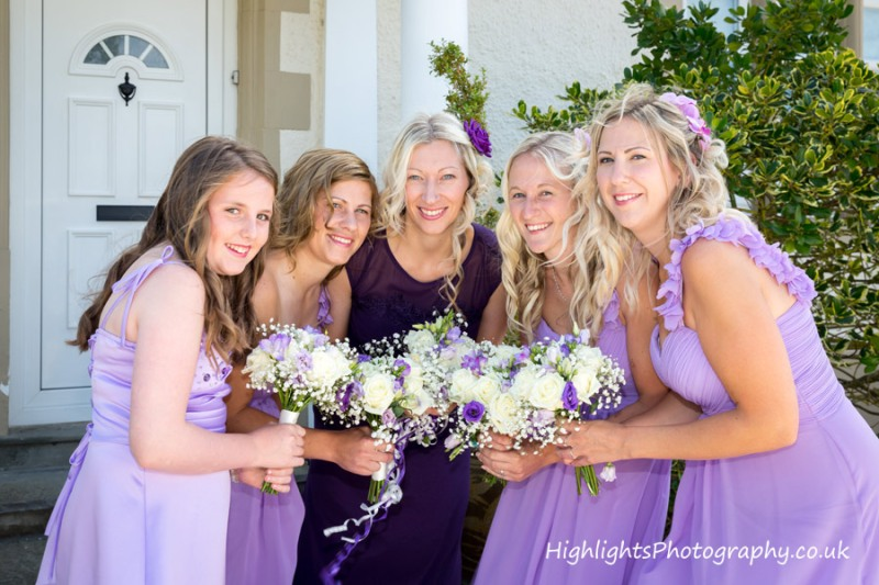 Bridesmaids - Rookery Manor Wedding Somerset