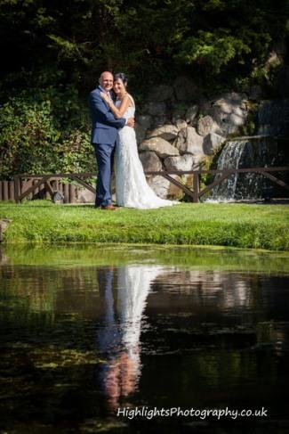 Rookery Manor Wedding Somerset - Reflections