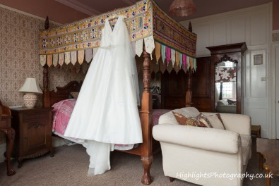Banwell Castle Wedding Somerset - Wedding Dress