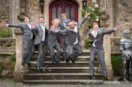 Banwell Castle Wedding Somerset - The Boys