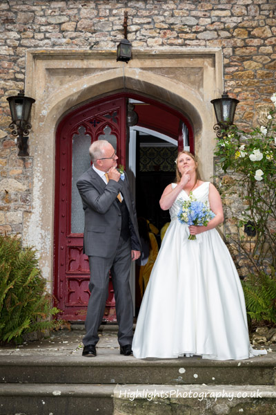 Banwell Castle Wedding Somerset