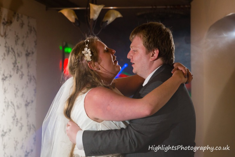 First dance - Banwell Castle Somerset Wedding