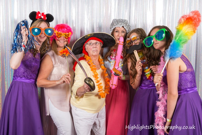 Weston super Mare Wedding - Photo Booth
