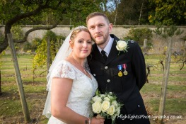 Leigh Park Hotel wedding photo - by Highlights Photography