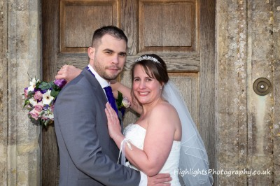 The Tythe Barn Tetbury Wedding