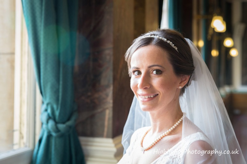 The Bride at Birmingham Council House Wedding