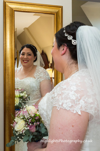 The bride - Wedding at Tortworth Court