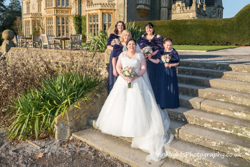 Weddings at Tortworth Court - The Bridesmaids