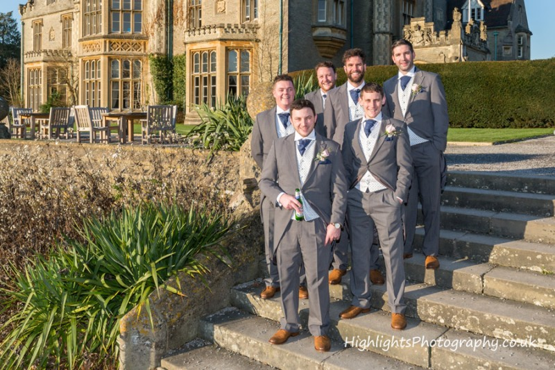 Weddings at Tortworth Court - The Boys