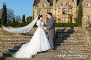 Tortworth Court Wedding - Bride & Groom
